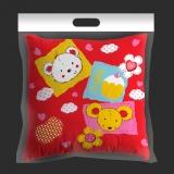 红富士生态家纺 艺术含芯靠垫/靠枕/抱枕/枕头 款式花色随机发货 YL