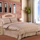 红富士生态家纺 生态纺350系列纯棉斜纹印花床上用品四件套 清风格