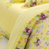 红富士生态家纺 韩国多丽双人儿童床单被套四件套 TDL3 阳光里的琦琦B版