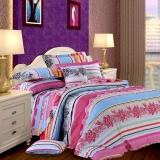 红富士生态家纺 100%纯棉独幅被套床单四件套FN1005迷彩