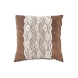 红富士生态家纺 靠垫系列 C19391 花边靠垫 抱枕 外贸出口沙发靠垫